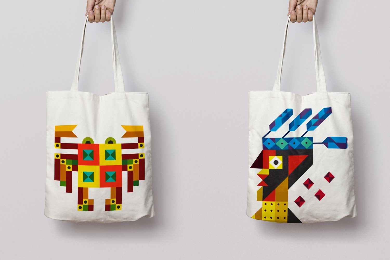 Anant Kulkanri Design application - Tote bag