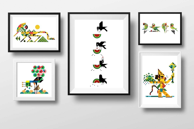 Anant Kulkanri Design application - posters and frames