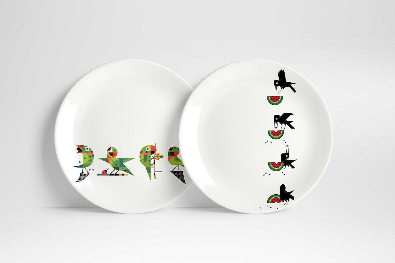 Anant Kulkanri Design application - Plates